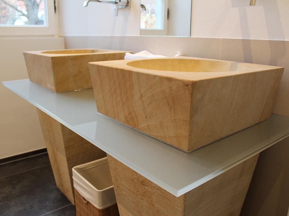 Sandstein Waschbecken waschbecken im schlössl oberotterbach lars timrott steinmetz und